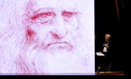 Leonardo, uno spettacolo di e con Vittorio Sgarbi