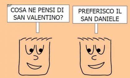 E' San Valentino, ridiamoci su: frasi e immagini da inviare FOTO