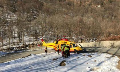 Alpinista precipita dal Monviso: è salvo
