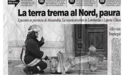 Esattamente 16 anni fa una violenta scossa di terremoto