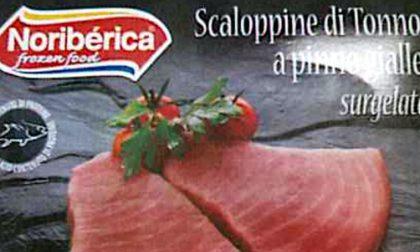 Istamina nelle scaloppine di tonno a pinne gialle: ritirate in tutto il Nord Italia