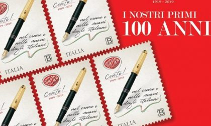 Aurora compie cent'anni, un francobollo celebra l'azienda torinese