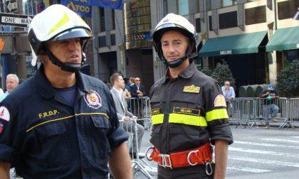 Claudio Giacalone, comandante dei Vigili del Fuoco, saluta Alessandria