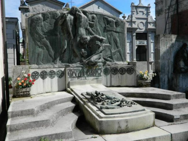 Al Cimitero un Famedio per gli internati militari italiani Monferrini