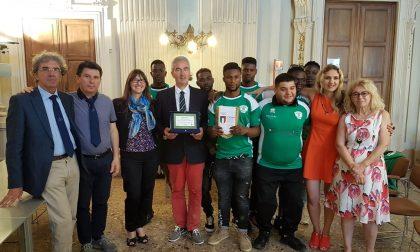 Le Tre Rose Rugby di Casale Monferrato premiate dal CONI