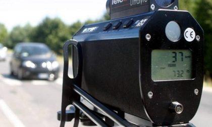 Controlli della velocità sulle strade piemontesi. La mappa degli autovelox