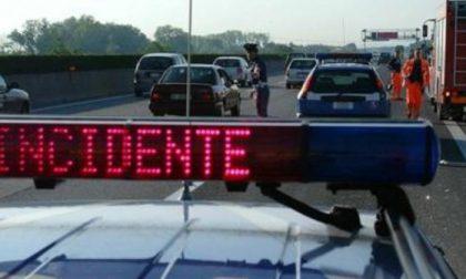 Incidente a Felizzano: camper si ribalta sull'A21