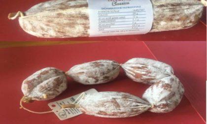 Auchan e Simply segnalano il richiamo: salami Aliprandi