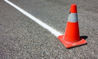 Caos sulla strada tra Casale e Pontestura: si è rotto anche il semaforo