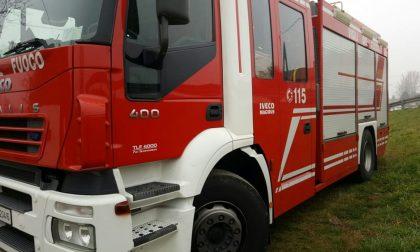 Incidente a Montecastello, intervengo i vigili del fuoco