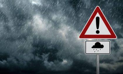 Allerta meteo gialla di Arpa Piemonte per oggi: attesi temporali