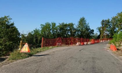 Strada Trino-Camino: in vista l'allargamento del ponte