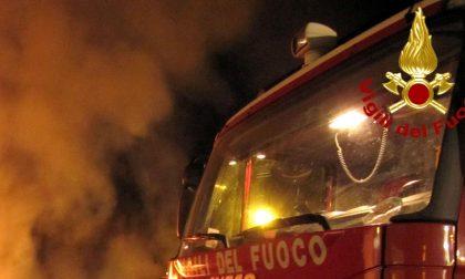 Incendio all'aviosuperficie di Francavilla Bisio