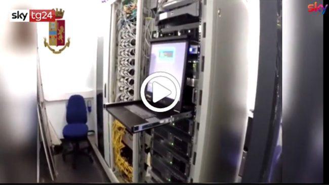 Operazione antipirateria anche in Lombardia, stop 5 milioni utenti in Italia VIDEO