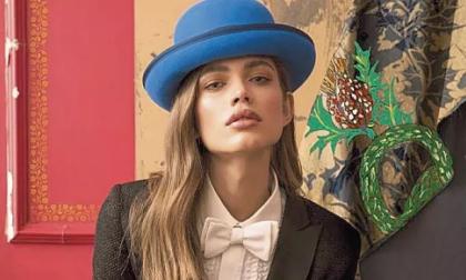 Cappelli Borsalino si rinnova con la modella transgender Valentina Sampaio