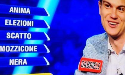 Gabriele prosegue il suo cammino all'Eredità anche se la Ghigliottina lo tradisce