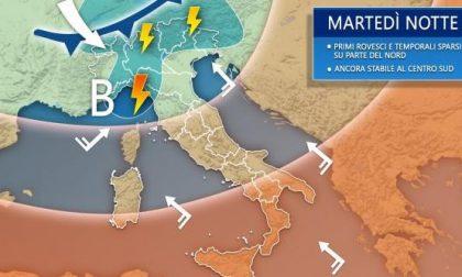 Previsioni meteo, cambia tutto: in arrivo piogge, temporali e freddo