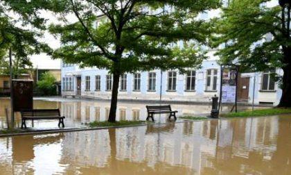 Maltempo: allagamenti causati da scarichi ostruiti e record di pioggia nel Novese