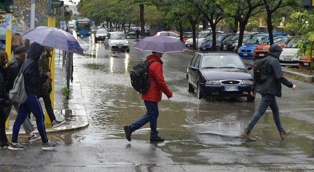 Piogge intense nel fine settimana e torna la paura
