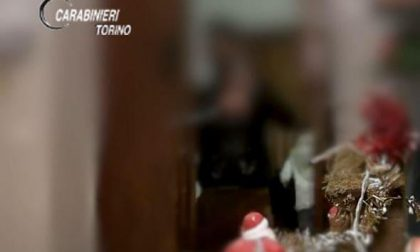 Furto in diretta video: ladro ripreso dalle telecamere mentre manda un bacio al presepe