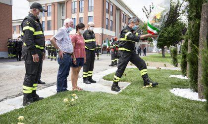 Il Capo del Corpo Nazionale dei Vigili del Fuoco rende omaggio alle vittime di Quargnento