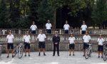 Civich in mountain bike addestrati dalll'Ufficiale di polizia locale del Comando di Alessandria