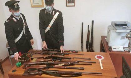 Ritrovata in Lomellina una cassaforte contenente 12 fucili da caccia rubata ad Alessandria