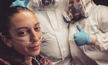 """Clotilde trasferita alla clinica Salus: """"Un grazie di cuore ai medici, agli infermieri… e anche ai negazionisti"""""""