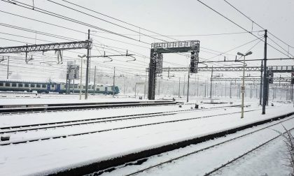 Emergenza neve: ecco tutti i treni cancellati nell'Alessandrino