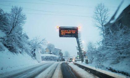 Emergenza neve Alessandria, forti disagi alla circolazione autostradale