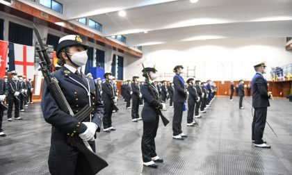 Marina militare, due ragazzi Alessandrini dell'Accademia Navale giurano fedeltà alla patria FOTO