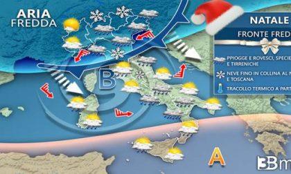 Meteo Alessandria: Natale e Santo Stefano tra sole e nuvole. Da domenica torna la neve