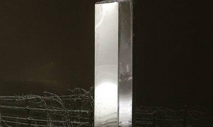 Il 2021 porta un monolite misterioso anche nel Monferrato FOTO