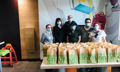Serravalle, McDonalds donerà 50 pasti caldi a settimana fino a fine marzo