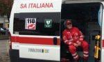Sirene spiegate per Carlo Milanese, l'addio da parte dei colleghi della Croce Rossa