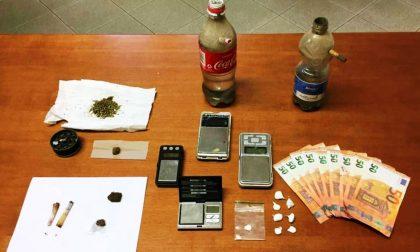 Cocaina, marijuana e soldi falsi: in manette una coppia di spacciatori