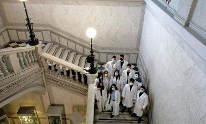 Benvenuti in corsia, 47 studenti fanno il loro ingresso nei reparti dell'ospedale di Alessandria