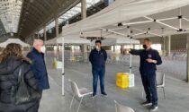 Allestito un centro vaccinale al PalaFiere di Casale Monferrato