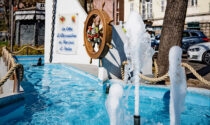 Riaperta ad Alessandria la fontana-monumento ai Marinai d'Italia