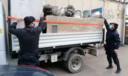 Tentano di rubare materiale elettrico ed edile per 2.500 euro, arrestati tre cittadini astigiani