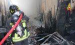 Sedato l'incendio di un capannone a Tortona
