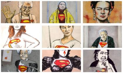 Greta, Rita, Frida, Liliana, Alda, Bebe: superdonne sui muri delle metropoli