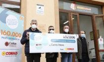 Conad Nord Ovest dona 76.400 euro a Caritas Italiana per il Piemonte e la Valle d'Aosta