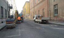 Riasfaltature a Casale Monferrato, partiti i nuovi interventi per 300mila euro