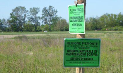Iniziata la tabellazione della Riserva naturale Castelnuovo Scrivia