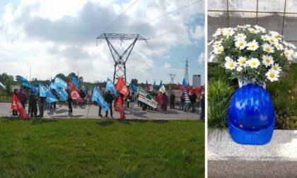 """Lo sciopero in onore dell'operaio morto al cantiere Amazon: """"Ora basta, zero morti sul lavoro!"""""""