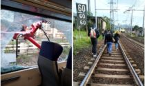Pantografo si stacca e sfonda il finestrino di un treno sulla tratta Acqui – Genova