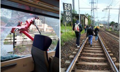 Pantografo si stacca e sfonda il finestrino di un treno sulla tratta Acqui - Genova