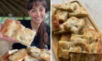"""Benedetta Parodi e la ricetta della focaccia dolce di Alessandria, la sorella Cristina: """"La più buona al mondo!"""""""