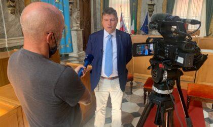 La televisione slovena gira un servizio a Valenza sulla ricerca e la lavorazione dell'oro